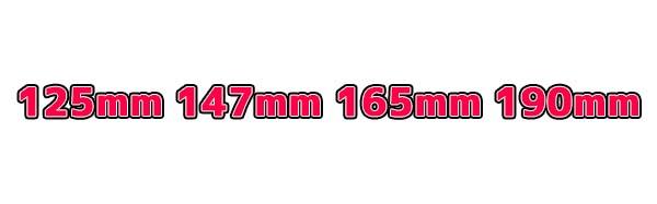 丸ノコの大きさ 4つの規格サイズ