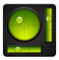 水準器アプリ