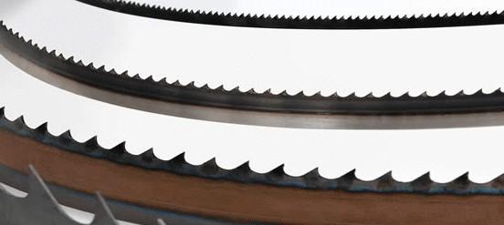海外規格のバンドソーブレードの替刃