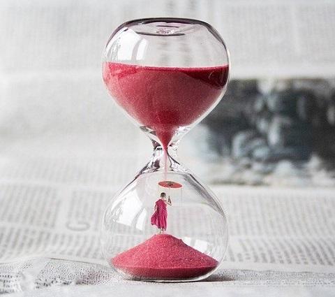 圧着時間と硬化時間